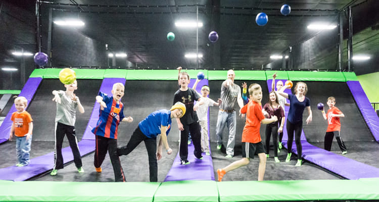Action City Adds a Trampoline Park